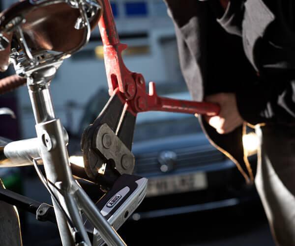 ladcykel cykeltyv Amladcykel