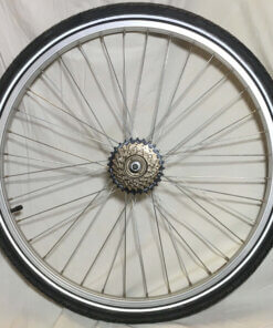 Baghjul til Ladcykel