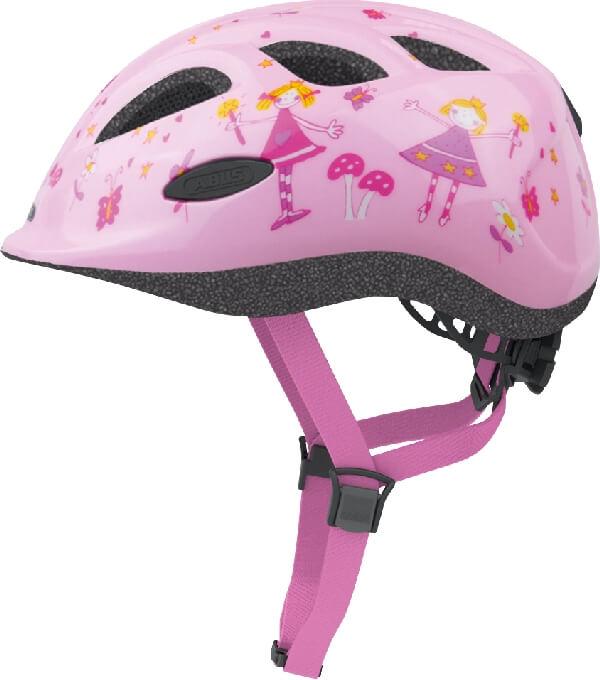 Vellidte Søger du efter markedets bedste børne hjelm - Abus Smiley Princess? PG-54