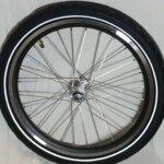 Fronthjul til ladcykel - Inklusiv dæk & slange