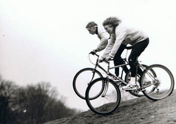 Moderne cyklister