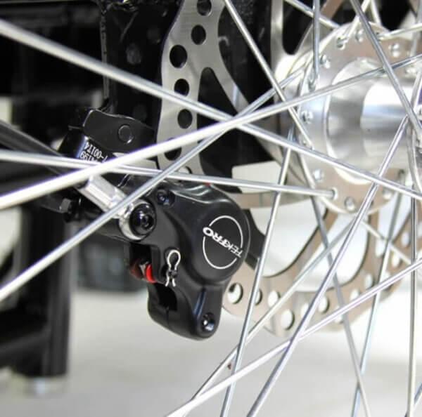 Amladcykler Hydrauliske skive bremser