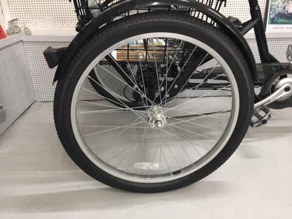 Baghjul Handicapcykel - Seniorcykel