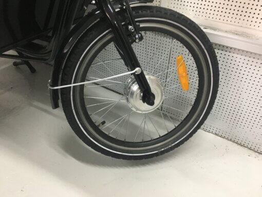 """Forhjul 20"""" long john med motor - Amladcykler"""