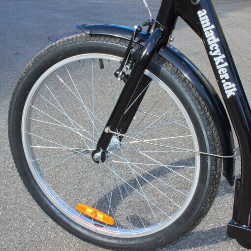 Handicap forhjul Amladcykler