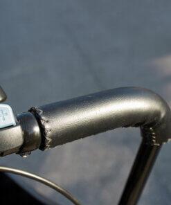 Læderhåndtag til ladcykel Amladcykler