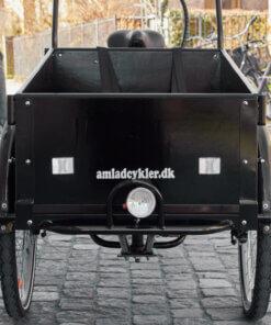Træplade til kasse på ladcykel – Front (Set fra chaufføren) Amladcykler