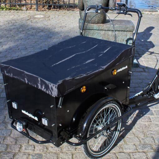 Regnslag til kassen ladcykel med el Amladcykler