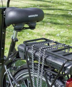 Lowrider sadel og batteri Amladcykler