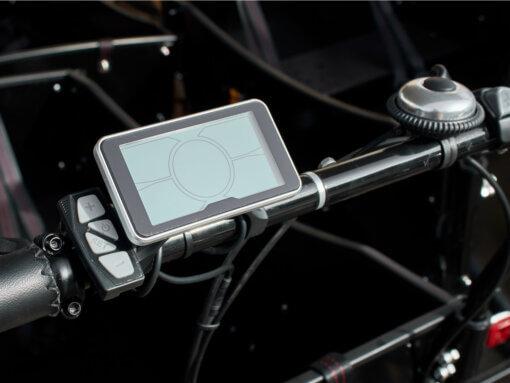 Elladcykel display - skærm