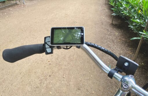 Handicap cykel, display Amladcykler