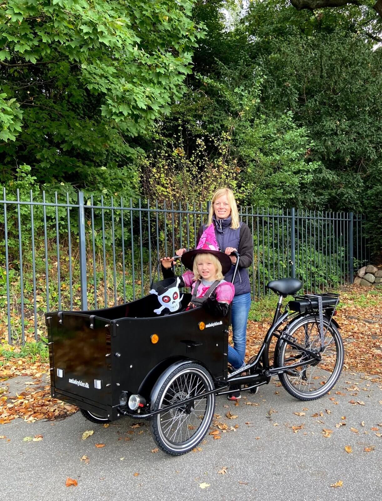 Efterårsferie med cykel - ladcykel