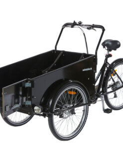 Hundeladcykel – ladcykel til hund - sidehæng låge
