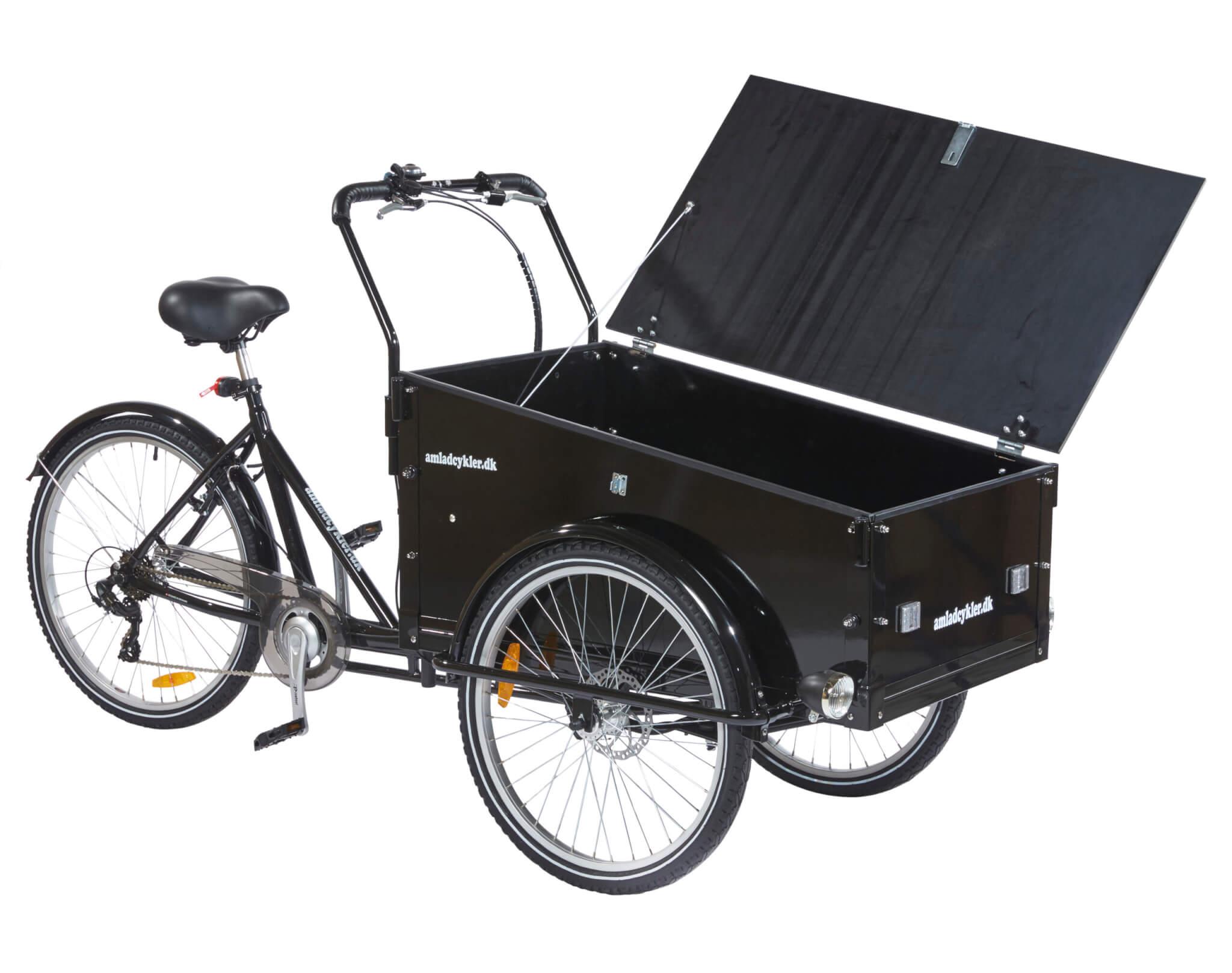 Arbejds ladcykel -Håndværker ladcykel - Erhvervs ladcykel