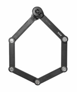 AXA kraftig foldelås til ladcykel – 90 cm – forsikringsgodkendt